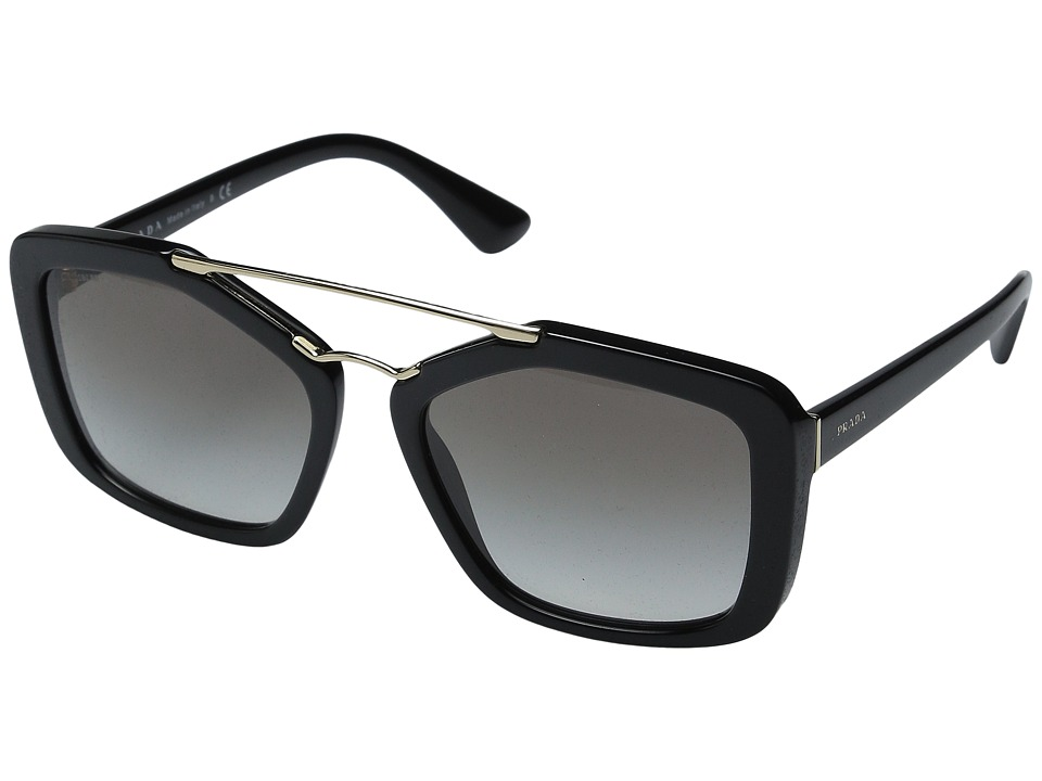 Prada 0PR 24RS Black/Grey Gradient Fashion Sunglasses