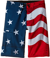O'Neill Kids - Santa Cruz Stretch Boardshorts (Little Kids)