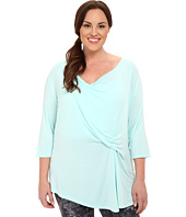 Marika Curves - Plus Size Hannah 3/4 Sleeve Top