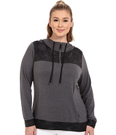 Marika Curves - Plus Size Broadway Foil Hoodie