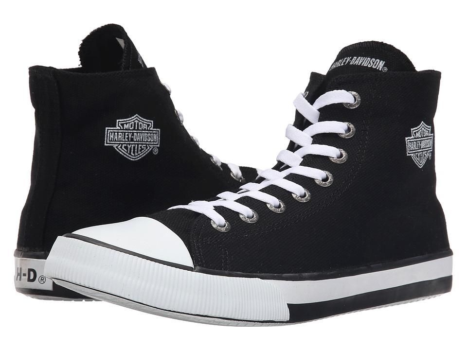 Harley Davidson Nathan (Black 1) Men's Lace up casual Shoes