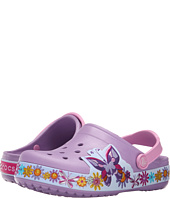 Crocs Kids - Crocband Butterfly Clog (Toddler/Little Kid)