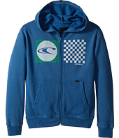 O'Neill Kids - Stateside Zip Fleece Top w/ Hood (Big Kids)
