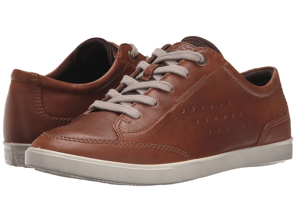 ECCO Collin Classic Tie Whisky Cow Nubuck Mens Lace up casual Shoes