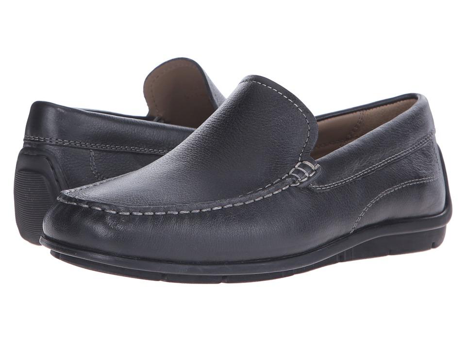 ECCO Classic Moc (Black Cow Leather) Men