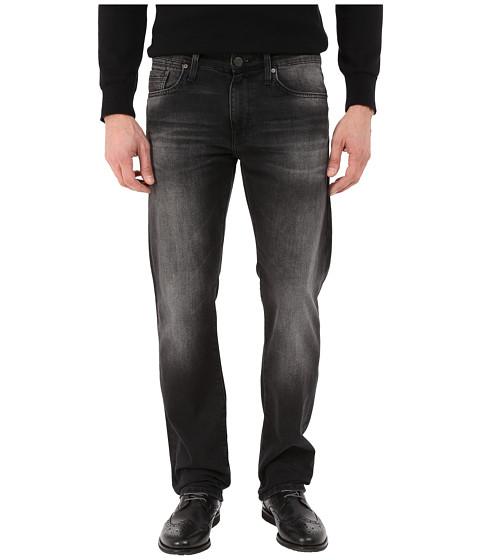 Mavi Jeans Zach Regular Rise Straight in Smoke Used Williamsburg