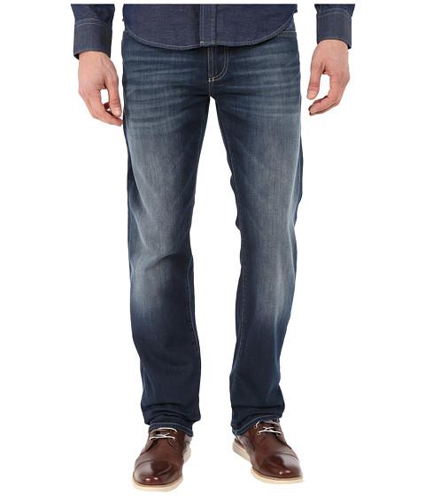 Mavi Jeans Zach Regular Rise Straight in River Blue White Edge