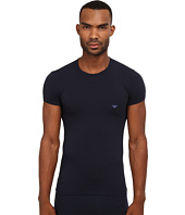 Emporio Armani - Stretch Cotton Crew Neck T-Shirt