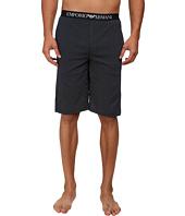 Emporio Armani - Printed Jersey Bermuda Shorts