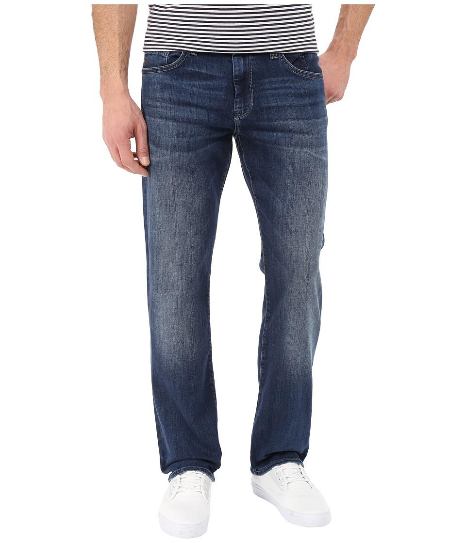 Mavi Jeans - Matt Mid-Rise Relaxed Straight in Mid Indigo Cooper (Mid Indigo Cooper) Mens Jeans