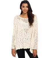 Free People - Pretty Pointelle Vee Sweater