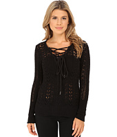Free People - Cross Ties Ginger Sweater