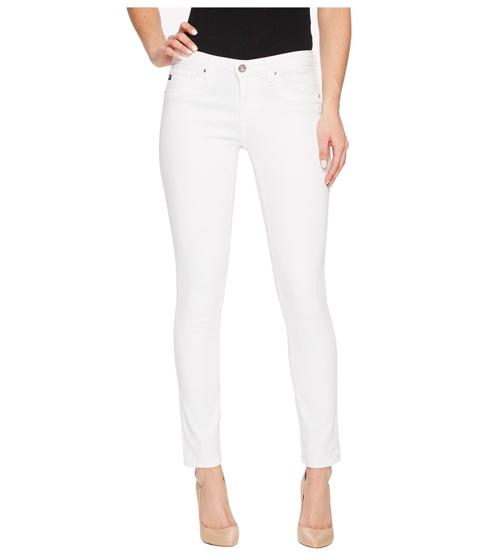 AG Adriano Goldschmied - The Legging Ankle in White (White) Womens Jeans