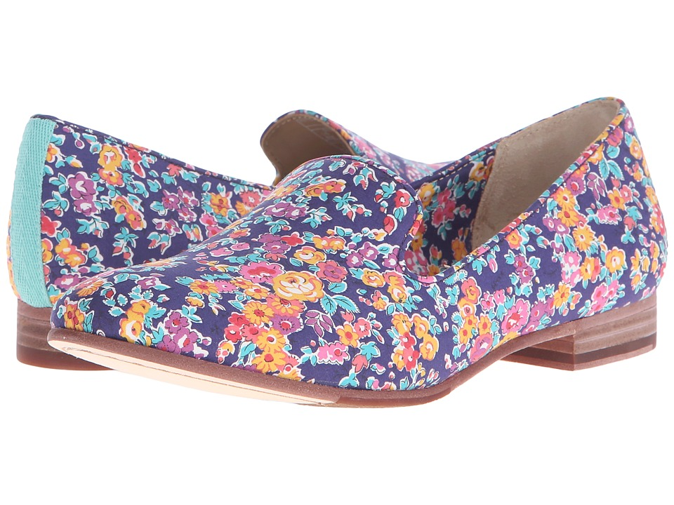Sebago Hutton Smoking Flat Tatum Liberty Print Womens Slip on Shoes