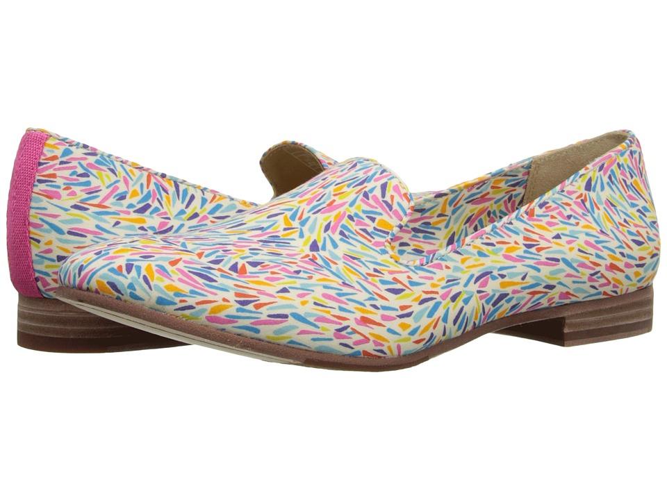 Sebago Hutton Smoking Flat Karter Liberty Print Womens Slip on Shoes