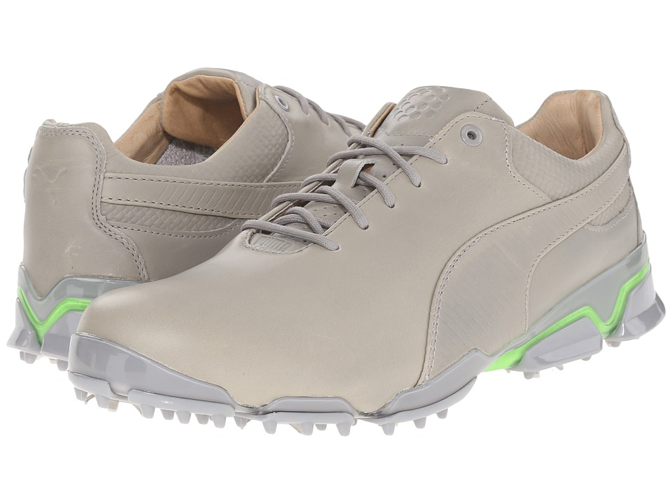 PUMA Golf - Titantour Ignite Premium (Drizzle/Green Gecko) Men