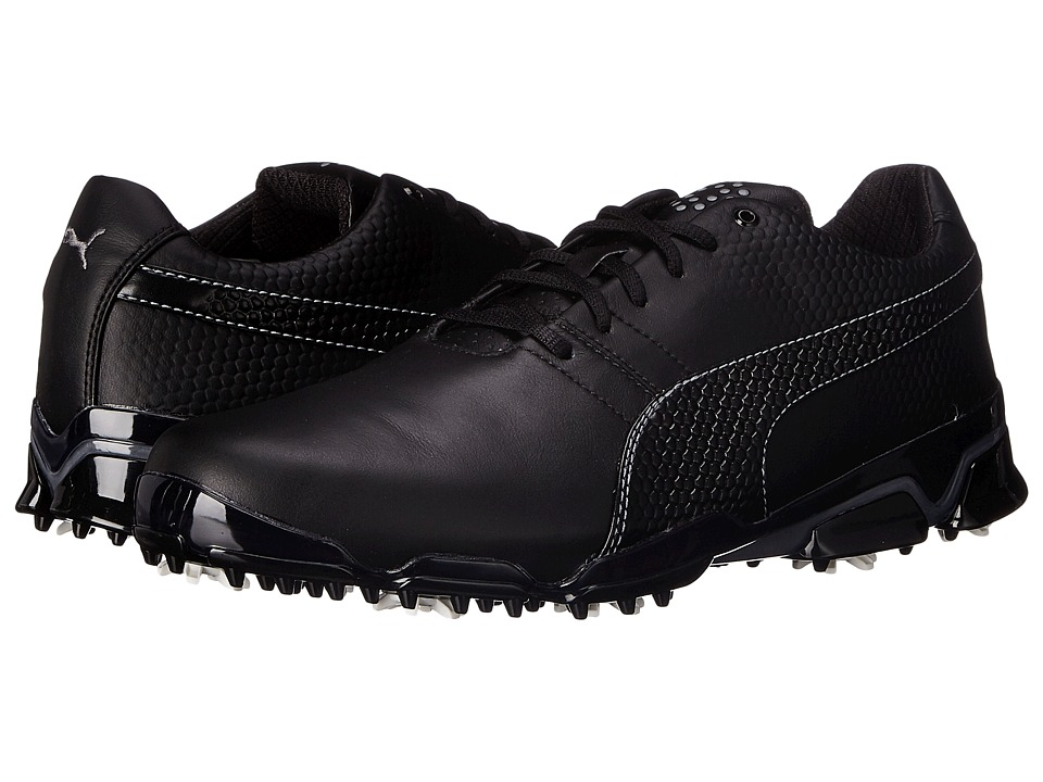PUMA Golf - Titantour Ignite (Black/Steel Gray) Men