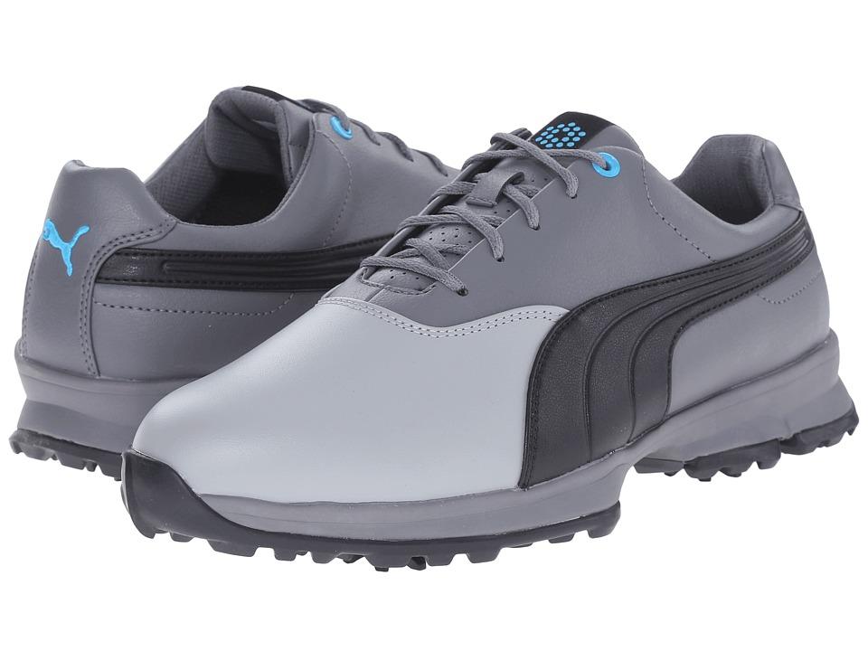 PUMA Golf - Golf Ace (Limestone Gray/Black/Steel Gray) Men