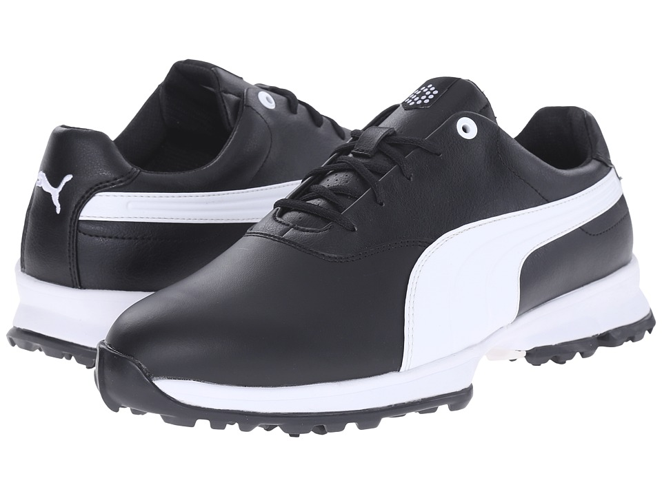 PUMA Golf Golf Ace (Black/White) Men