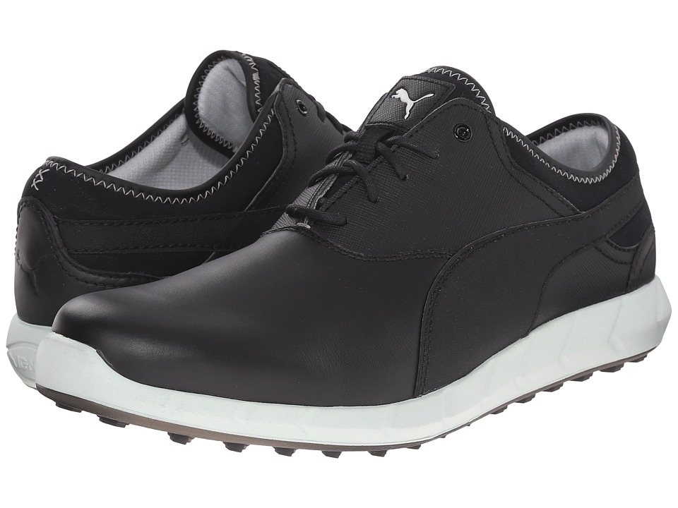PUMA Golf Ignite Golf (Black/Glacier Gray) Men