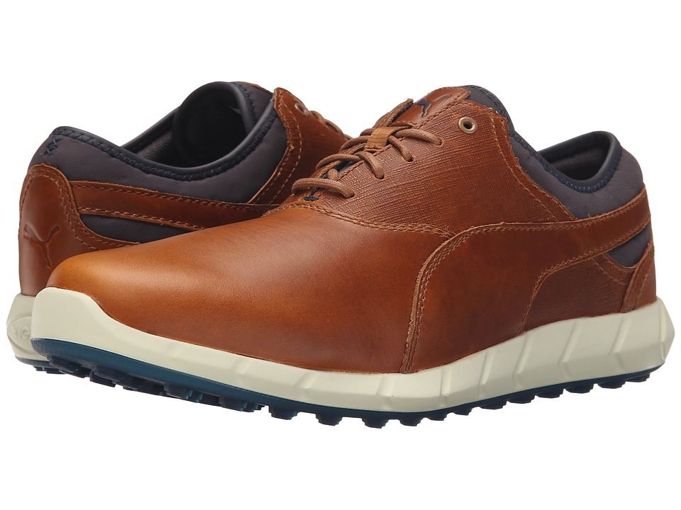 PUMA Golf - Ignite Golf (Chipmunk/Peacoat) Men