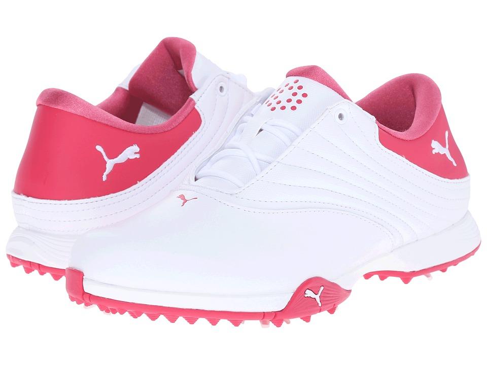 PUMA Golf Blaze (White/Rose Red) Women