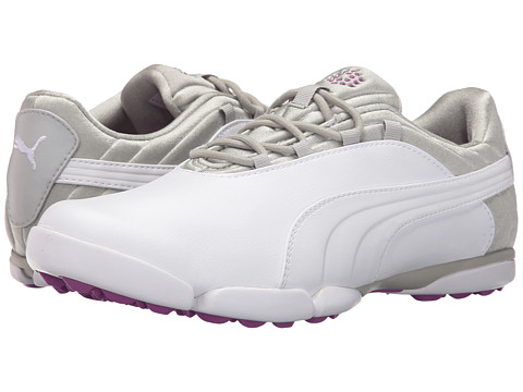 PUMA Golf Sunnylite V2 - White/Gray Violet/Purple Cactus Flower