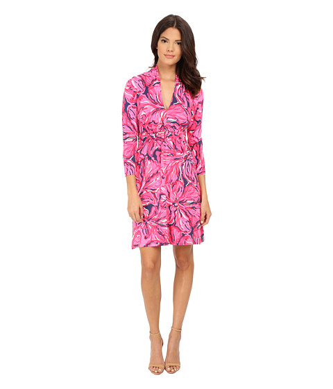 Lilly Pulitzer - Alexandra Dress (Bright Navy Flirty Navy) Women's Dress