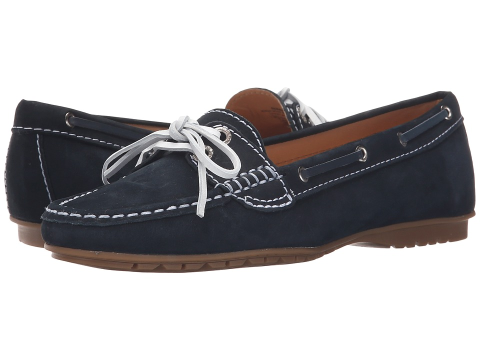 Sebago Meriden Two Eye (Navy Nubuck) Women