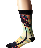 adidas - Neo 3D Sublimated Palms and Poppies Single Crew Socks