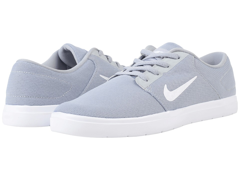 Nike SB Portmore Ultralight Mesh (Wolf Grey/White/Cool Grey) Men