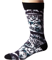 adidas - Neo 3D Sublimated White Tiger Single Crew Socks