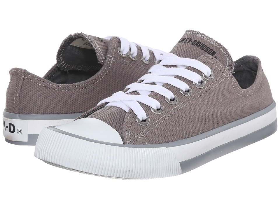 Harley Davidson Zia Grey Womens Lace up casual Shoes