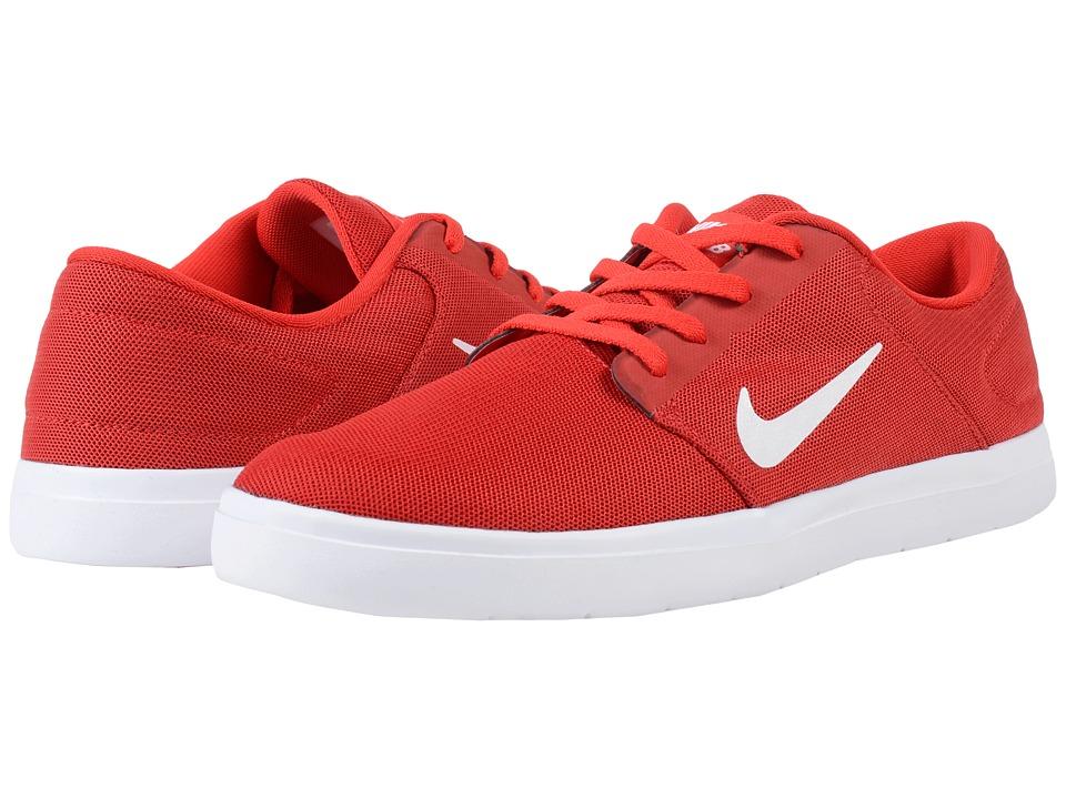 Nike SB - Portmore Ultralight Mesh (University Red/White/Gym Red) Mens Skate Shoes