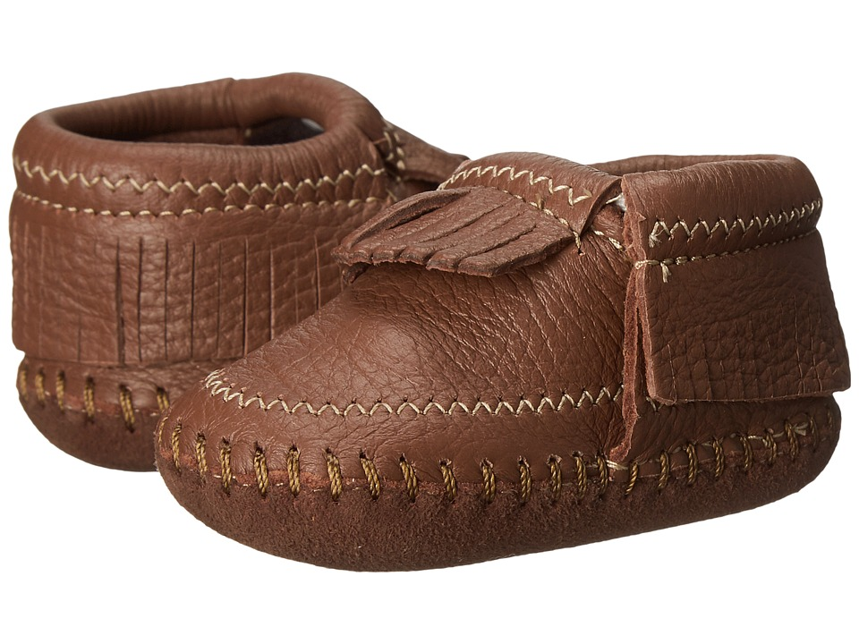 Minnetonka Kids Riley Bootie Infant/Toddler Carmel Girls Shoes