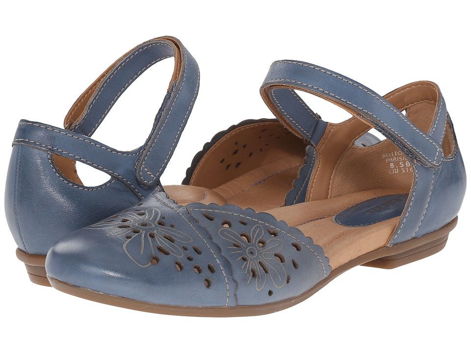 Earth Belltower Parisian Blue Soft Calf Womens Maryjane Shoes