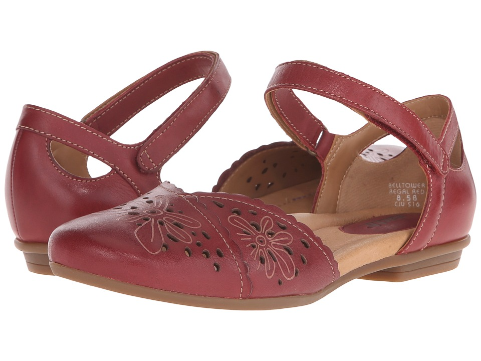 Earth Belltower Regal Red Soft Calf Womens Maryjane Shoes