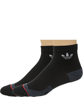 adidas - Originals Pique Quarter 2-Pack Socks