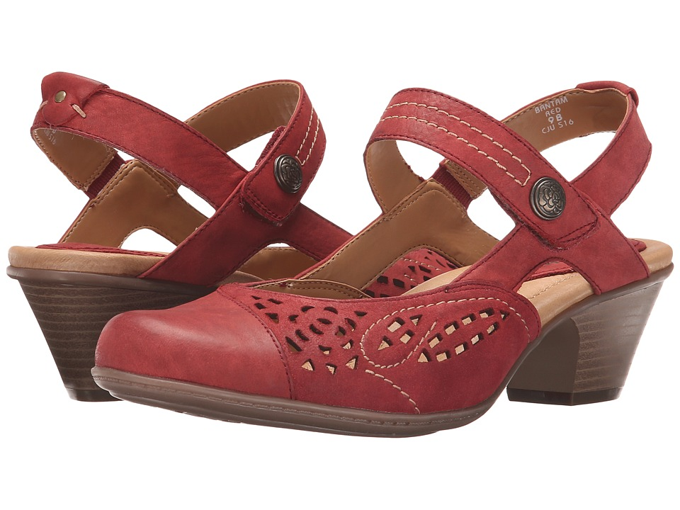 Earth Bantam Red Vintage Womens Shoes