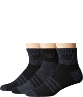 adidas - Originals Cushioned Quarter 3-Pack Socks