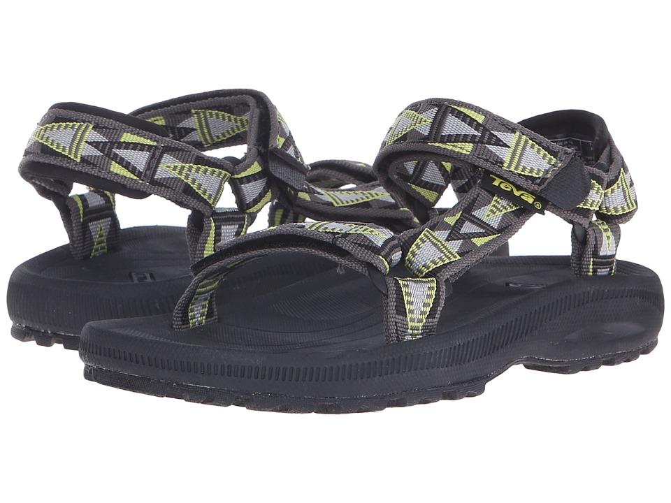 Teva Kids Hurricane 2 Little Kid/Big Kid Mosaic Grey/Lime Boys Shoes