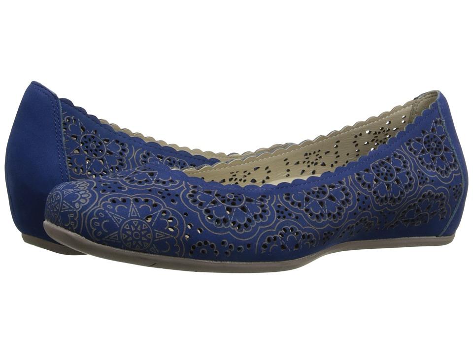 Earth - Bindi Earthies (Royal Blue Soft Buck) Women