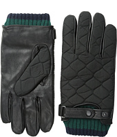 Ted Baker - Hofquil Quilted Nylon Leather Gloves