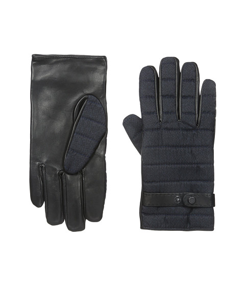 Ted Baker Justfab Fabric and Leather Mix Gloves