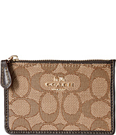 COACH - Box Program Signature Mini Id Skinny