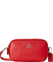 COACH - Polished Pebble Crossbody Pouch