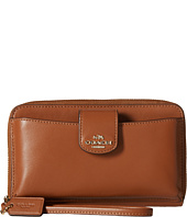 COACH - Box Program Leather Universal Pocket Phone Wallet