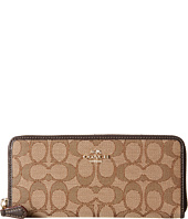 COACH - Signature Slim Accordion Zip
