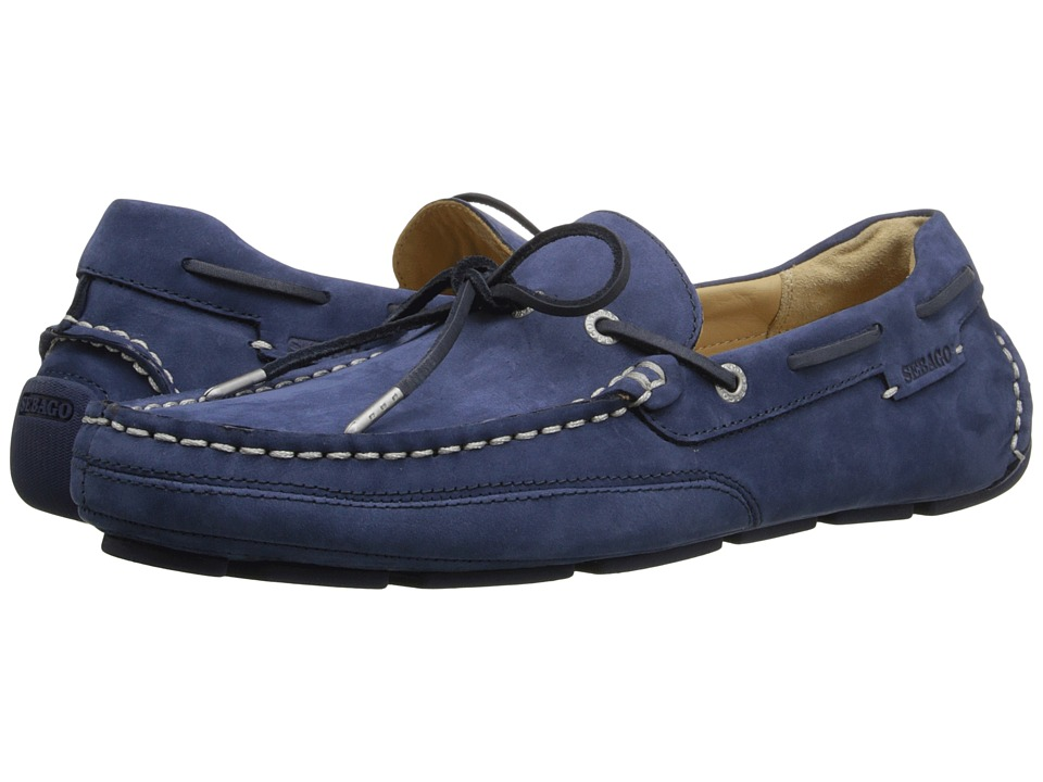 Sebago Kedge Tie Navy Nubuck 1 Mens Shoes