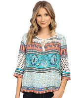 Roxy - Gypsy Breeze Woven Peasant Top